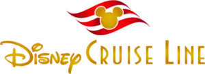 DCL Gold and Red logo vertical